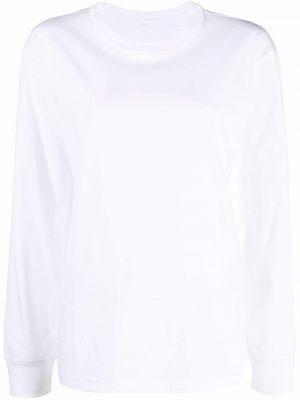 Белая футболка с круглым вырезом Alexanderwang.t