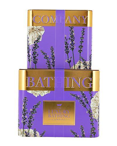 Мыло набор фиолетовый The Luxury Bathing By Grace Cole