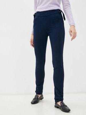 Зауженные брюки - синие мадам т