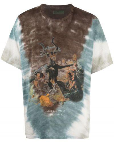 T-shirt bawełniany krótki rękaw z printem Siberia Hills