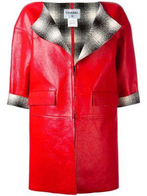 Красная куртка с карманами Chanel Pre-owned