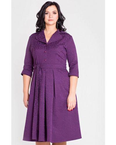 Платье миди фиолетовый Filigrana