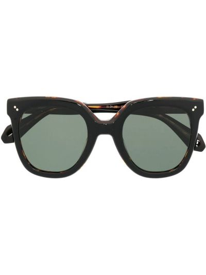 Czarne okulary oversize Gigi Studios