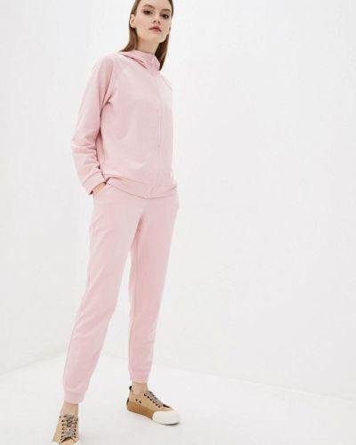Костюмный розовый спортивный костюм Lilove