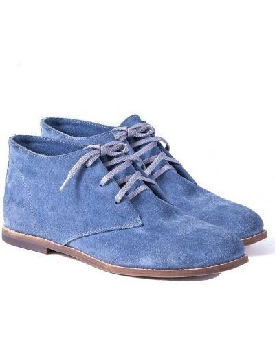 Ботильоны - голубые Windrose