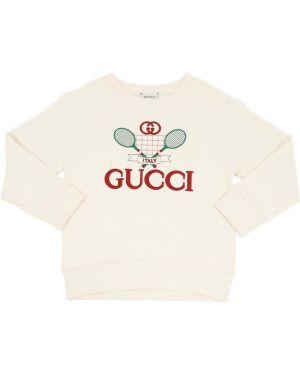 Свитшот с логотипом Gucci