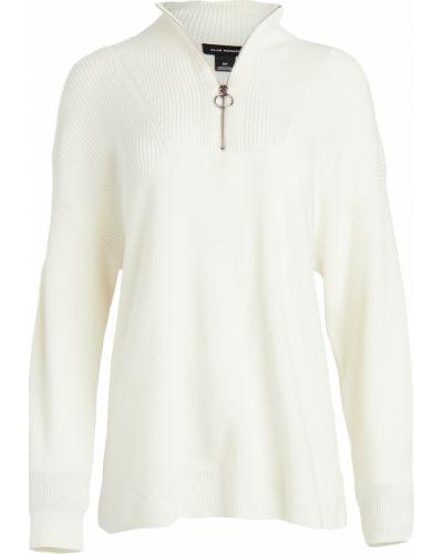 Клубный шерстяной бежевый пуловер Club Monaco