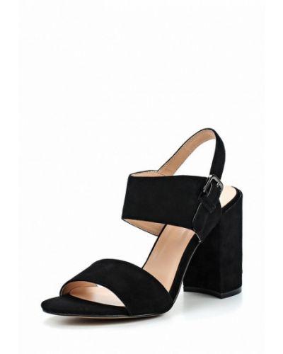 Черные босоножки на каблуке Winzor