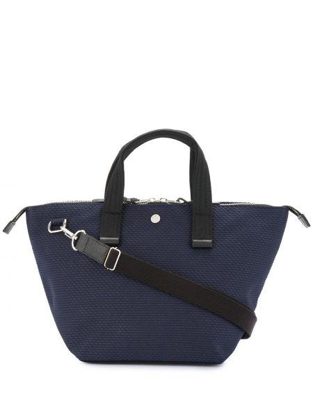 Синяя маленькая сумка Cabas