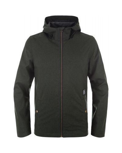 Утепленная куртка с капюшоном спортивная льняная Termit
