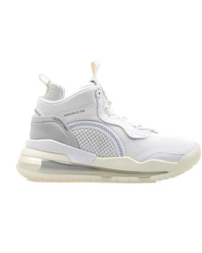 Białe trampki srebrne Nike