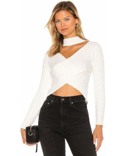 Biały sweter Superdown