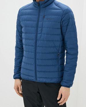 Зимняя куртка осенняя синяя Anta