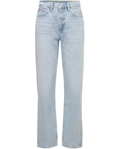 Джинсовые прямые джинсы - синие Re/done