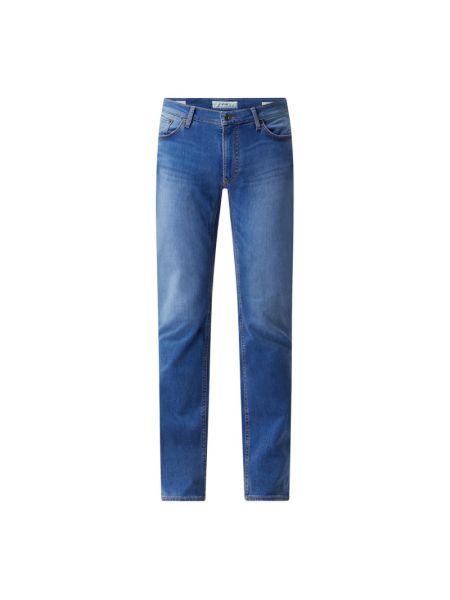 Niebieskie jeansy bawełniane Brax