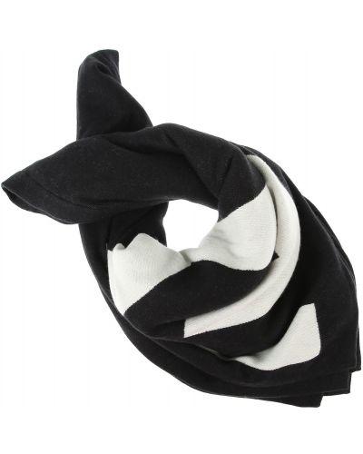 Czarny szalik bawełniany Givenchy