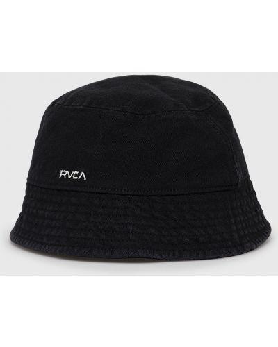 Czarna czapka bawełniana Rvca