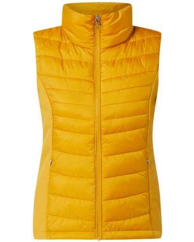 Żółta kamizelka pikowana S.oliver Red Label