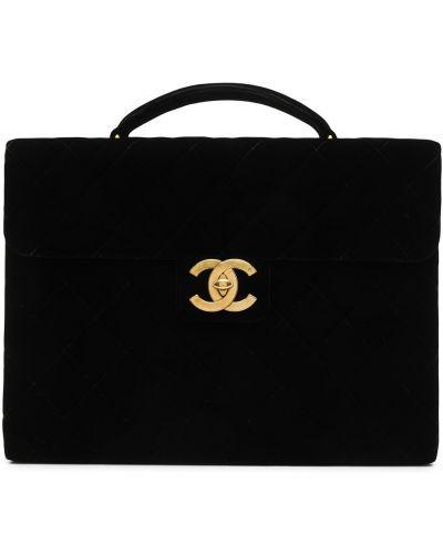 Teczka - czarna Chanel Pre-owned