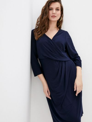 Синее платье-футляр Lauren Ralph Lauren Woman