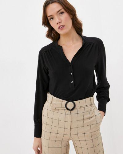 Черная блузка с длинными рукавами Wallis