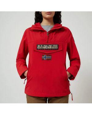 Красная куртка Napapijri