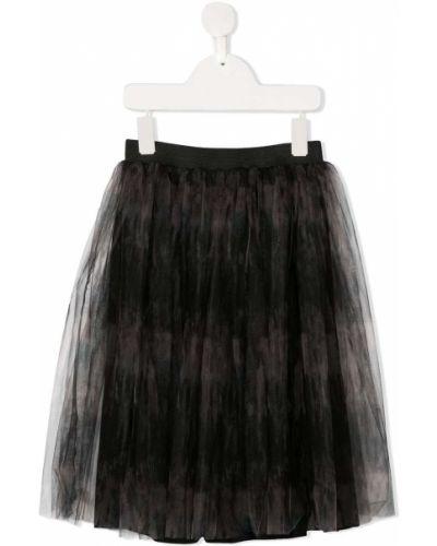 Пышная черная юбка из фатина Andorine