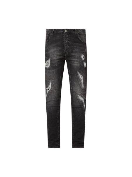 Czarne jeansy bawełniane Raizzed