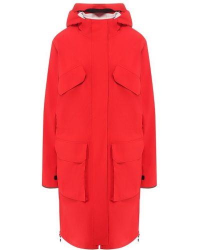 Пальто красное Canada Goose