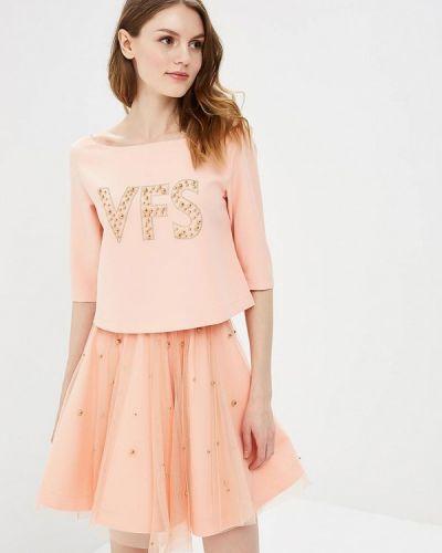 Юбочный костюм розовый домашний Sk-house