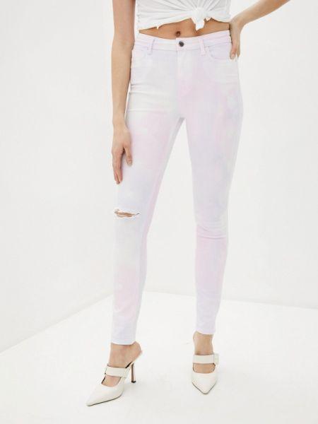 Джинсовые брюки - розовые Guess Jeans