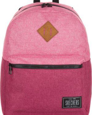 Рюкзак спортивный розовый для отдыха Skechers