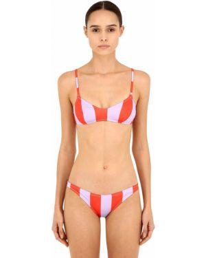 Бикини - фиолетовый Solid & Striped