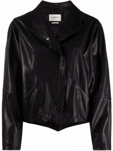 Черная куртка глянцевая Isabel Marant étoile
