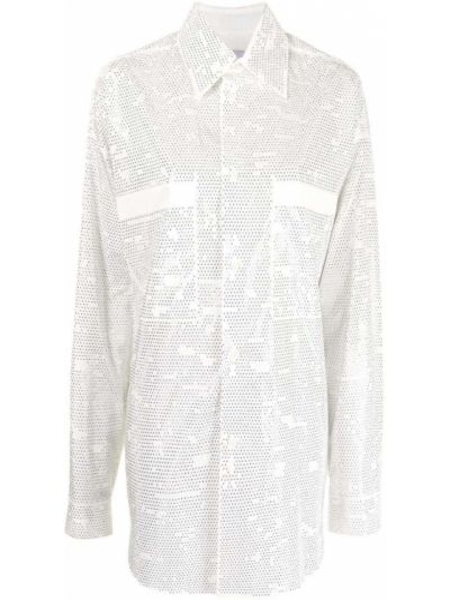 Рубашка оверсайз - белая Faith Connexion