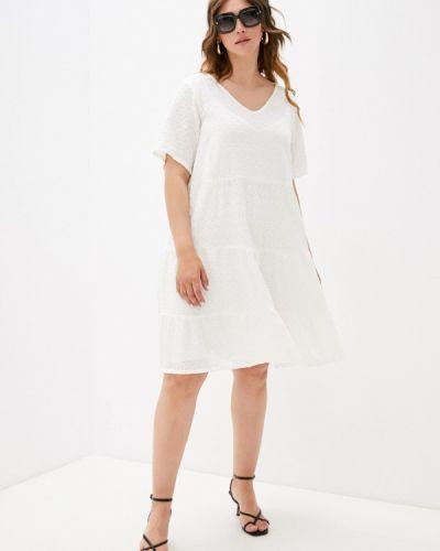 Повседневное белое платье Zizzi