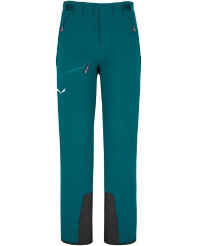 Шерстяные спортивные брюки - синие Salewa
