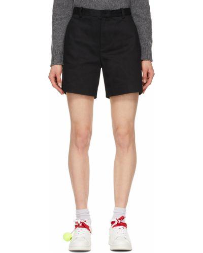 Черные шорты с вышивкой Marc Jacobs
