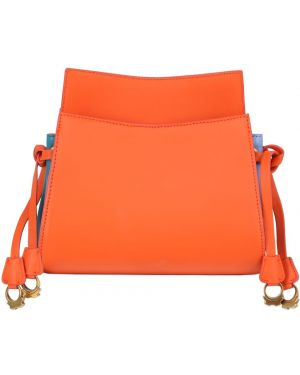 Pomarańczowa torebka skórzana Patricia Al'kary