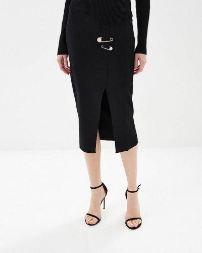 Юбка черная итальянский Versus Versace