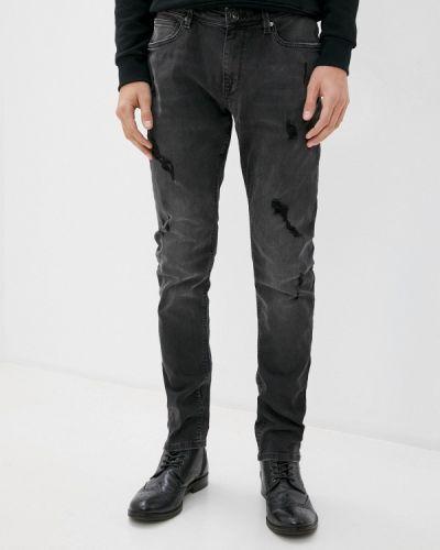 Зауженные серые джинсы-скинни Celio