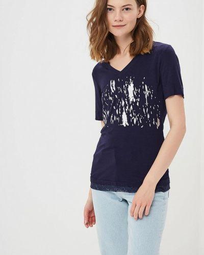 Синяя футболка Luhta
