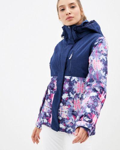 Синяя куртка горнолыжная Roxy
