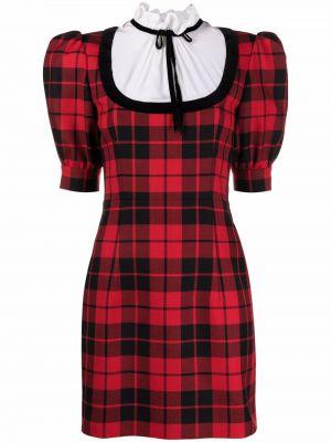 Шелковое платье - черное Alessandra Rich