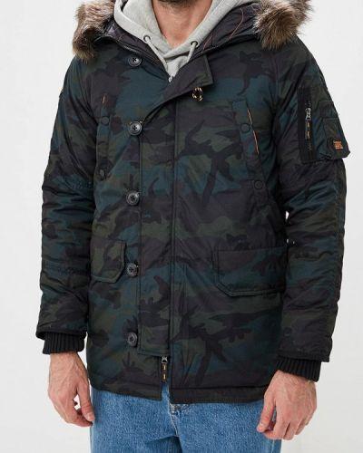 Утепленная куртка демисезонная осенняя Superdry