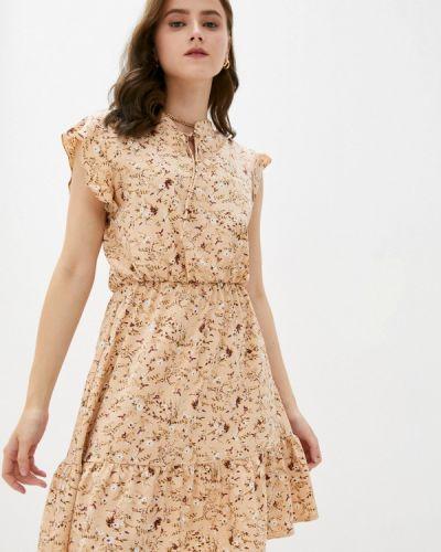 Бежевое платье летнее Froggi