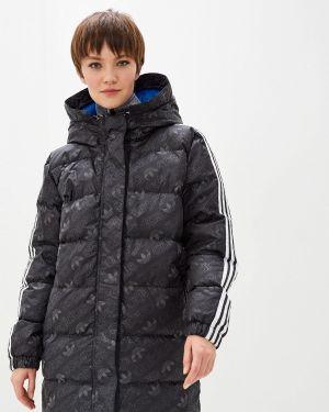 Куртка осенняя черная Adidas Originals