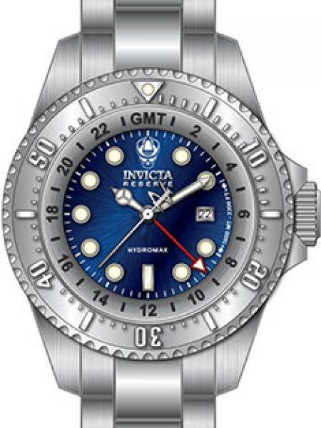 Синие кварцевые часы с поясом Invicta