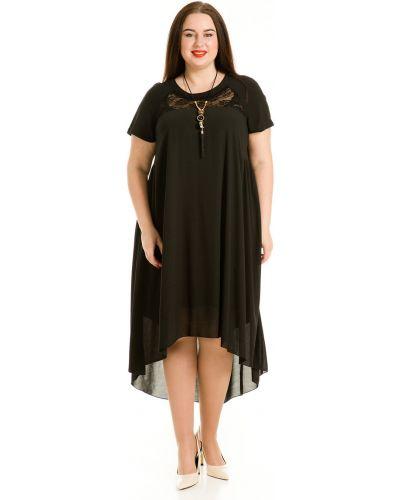 Платье мини со складками платье-сарафан Luxury