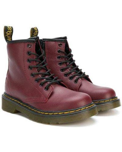 Ботинки на молнии на шнуровке Dr. Martens Kids